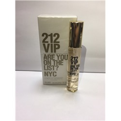Мини парфюм Carolina Herrera 212 vip wom 20 ml